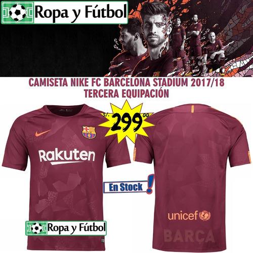 Camiseta Nike Fc Barcelona Stadium 2017 18 - 100% Originales. Precio  S .  299 99 Ver en MercadoLibre c9a4e10944e