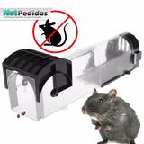 Jaula Tampra Para Ratas Y Ratones Con Señuelo 100% Eficaz