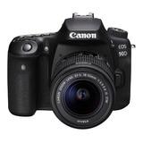 Camara Canon Eos 90d C/ Lente Ef 18-55 Is Stm 4k 32mp-nueva