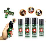 Gas Pimienta Spray Defensa Personal Proteccion Robo 60 Ml