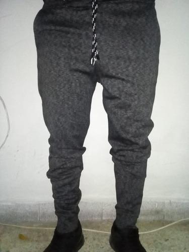 Pantalon Buzo Hombre/franela/fresh Terry/clasico-pitillo S ...