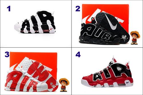 5b723eb1e5001 Zapatillas Nike Air More Uptempo 12 Modelos-envio Gratis