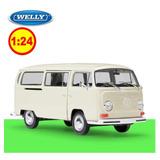 Auto Escala Vw Type 1 Bus 1972 Welly 1/24 Crema Sku: 162