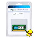Memoria Ram Crucial Para Mac 4gb 1x4gb Ddr3l 1600 Sodim Alta