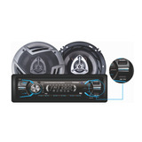 Combo Autoradio Bluetooth+parlantes 16cm Bowmann Dx-3660bt