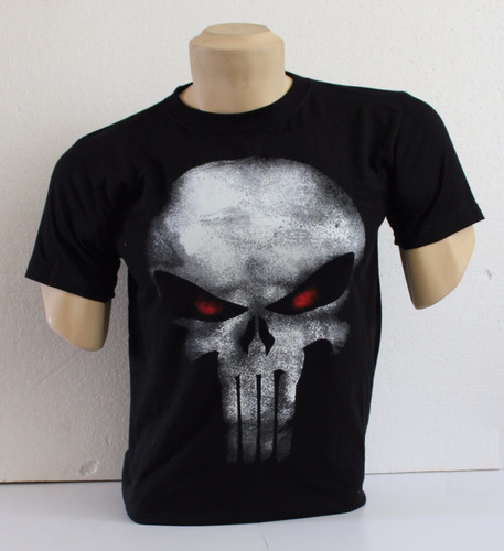 Polo Personaje De La Marvel - The Punisher Talla M