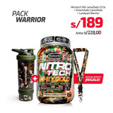 Pack Warrior: 1nitrotech 2.5lb+ 1lanyard Camu+ 1shaker Camu