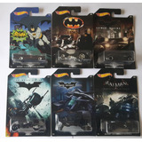 Hot Wheels Batmobile Batman Batimovil X6 Coleccion Completa