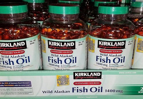 201aabbb767e Cápsulas Gel Fish Oil Kirkland Adultos Original Directo Usa. S .