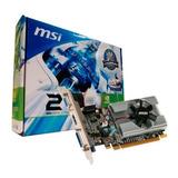 Tarjeta Video Nvidia Geforce 210 1gb Ddr3 Msi