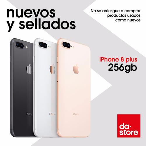 Iphone 8 Plus 256gb Libre De Fabrica Garantía Tienda Física