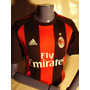 Camiseta Milan Ac Nueva Import From Italy ! ! ! ! ! ! ! ! !