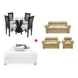 Sala + Comedor + Dormitorio-regalo 4 Cojine