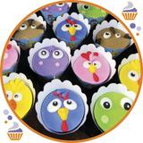 12 Cupcakes Personalizados Ideal Para Toda Ocasión Y Evento