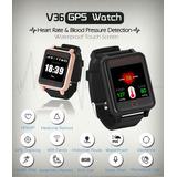 Reloj Gps Rastreador Ancianos (frec Cardiaca/pres Sanguinea)