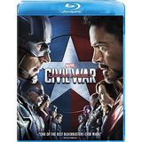 Captain America Civil War Blu Ray Edicion Usa Nuevo 2019
