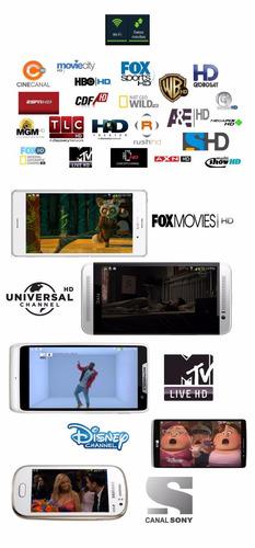 Tv digital hd cable gratis para celulares android 300 - Precio cable tv ...