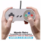 Promocion 2x 50 Soles Mando Super Nintendo Usb Para Pc Win