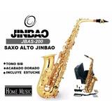 Saxo Alto Jinbao Incluye Estuche Y Accesorios