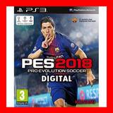 Pes 2018 Ps3 Pro Evolution Soccer 2018 Ps3 + Pase En Linea