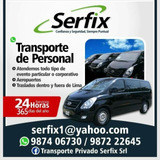 Alquiler De Van-transporte De Personal