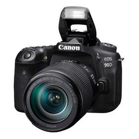 Camara Canon Eos 90d C/ Lente Ef 18-135 Is Nano Usm