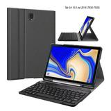 Case C/ Teclado Bt Galaxy Tab S4 S5e A 10.1 T510 A 10.5 T590