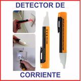 Detector Probador Testeador De Corriente Con Luz Y Sonido