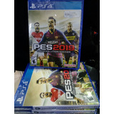 Pes 2019 Pro Evolution Soccer By Ps4 Fisico (nuevo/sellado)