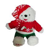 Peluche Oso Polar 49cm Navideño Nuevo Regalo Amor Navidad