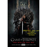 Serie Game Of Thrones 8 Temporadas +(libros-precuela-extras)