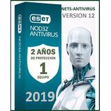 Eset Nod32 Antivirus 2 Años Una Licencia Original Para 1pc