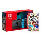 Nueva Consola Nintendo Switch 2019 + Super Mario Party