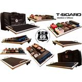 Pedalboard T-board 60x30cm (pedales Efectos Guitarra Bajo)