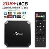 Tv Box Android 7.1 X96 Mini 2gb Ram 16gb Movistar Tv Netflix