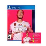 Fifa 20 + Poster + Dlc Playstation 4