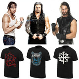 Wwe Polos Roman Reigns, Brock Lesnar, Dean Ambrose, Cm Punk