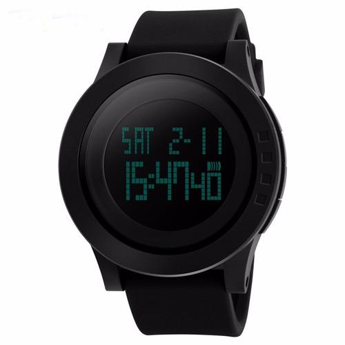 Reloj Skmei 1142 Digital Led Para Hombre Deportivo Negro