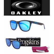 Lentes Oakley Frogskins Eclipse Oo9013-a9 - 100% Nuevo