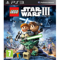 Lego Star Wars 3 The Clone Wars Ps3 Juegos Ps3 Delivery