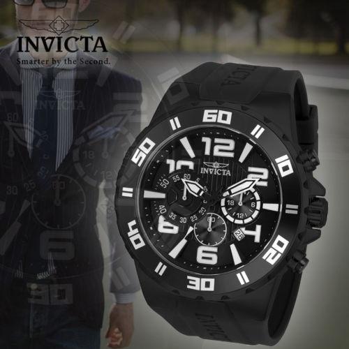 41b03d3d82ef Reloj Invicta 24673 Pro Diver Quartz Multifunción Negro Dial