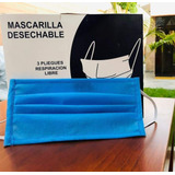 Mascarilla Notex Quirúrgico/ Gramaje 80/ Doble Capa/ X Mayor