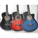 Guitarra Electroacústica Importada Mástil Delgado D-carlo