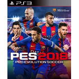 Pro Evolution Soccer 2018 Digital Latino Ps3