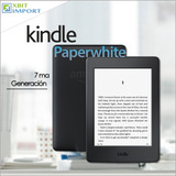 Kindle Paperwhite 7ma Generación 300 Ppi + 3000 Obras
