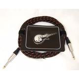 Cable Plug Fzone Revestido Para Guitarra O Bajo 5 Mts