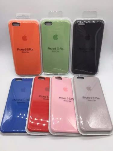 Protector Silicona Case Iphone 6, 7 Y Plus En Caja Original¡