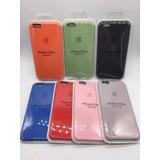 Protector Silicona Case Iphone 6, 7, 8 Plus, X,caja Original