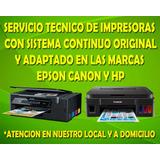 Servicio Tecnico De Impresoras Con Sistema Continuo