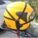 Elástico Porta Casco Porta Equipaje Para Moto